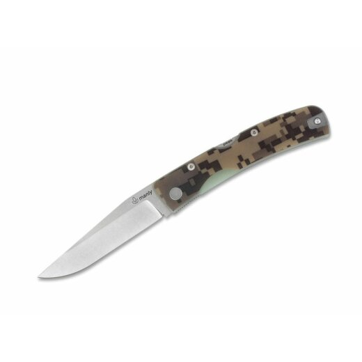 Manly Peak CPM-S90V Desert Camo ,Two Hand