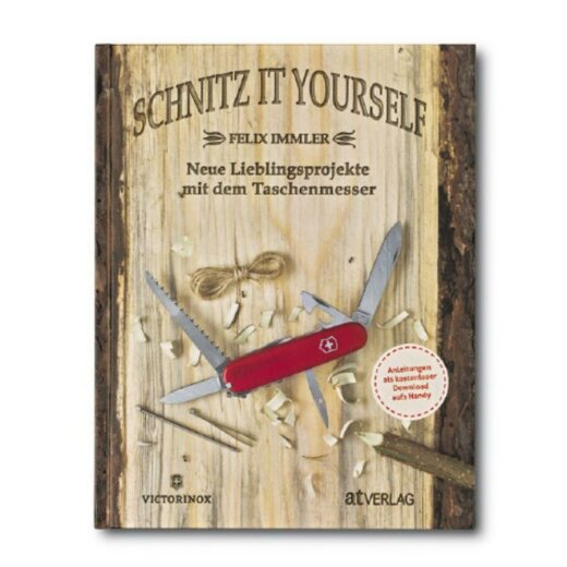"Buch ""Schnitz it yourself"", Deutsch"