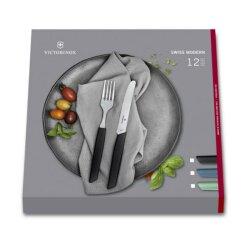 Swiss Modern Besteck-Set mit Messer und Farbe nach Wahl,...